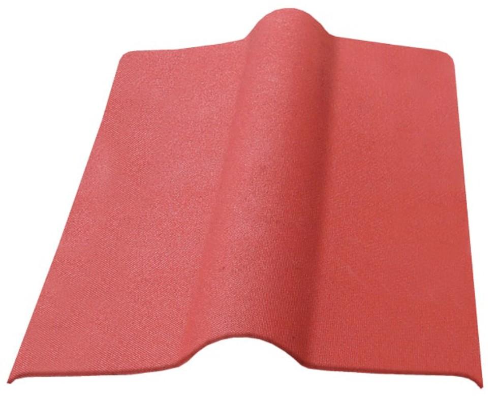Элемент коньковый Ондулин цвет красный