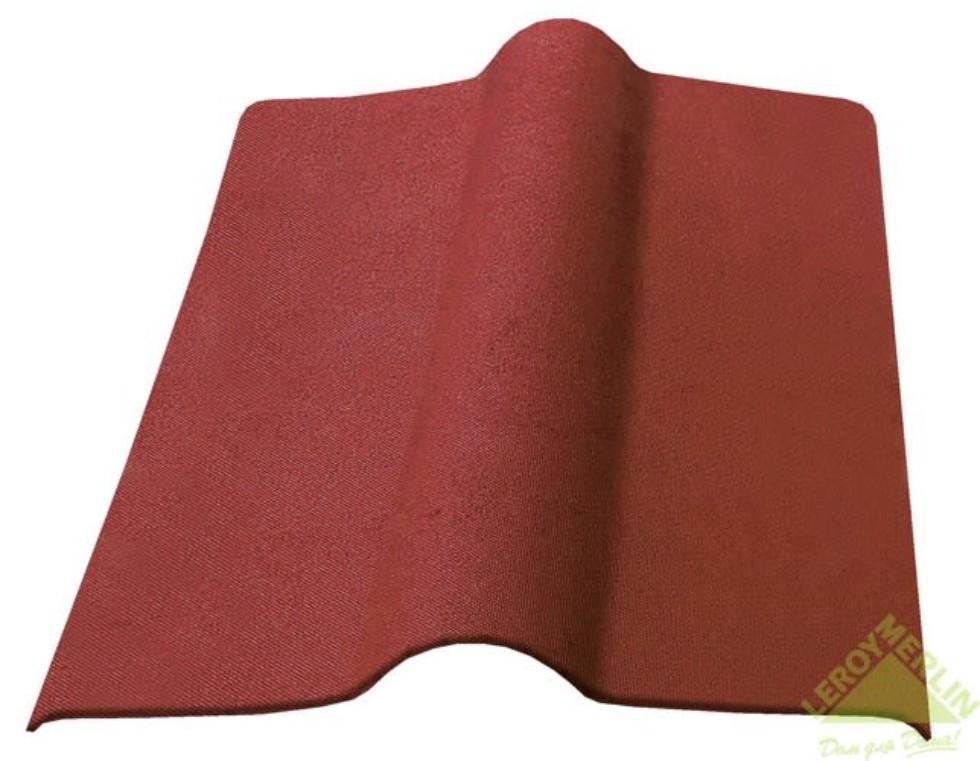 Элемент коньковый Ондулин цвет коричневый