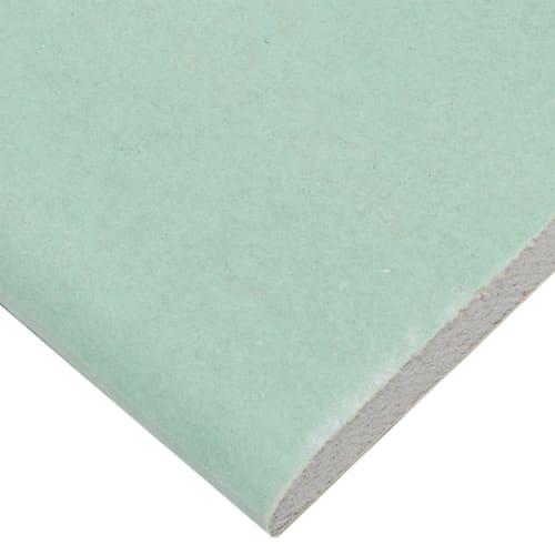 Гипсокартон влагостойкий 9.5 мм Knauf 2500х1200 мм 3 м²