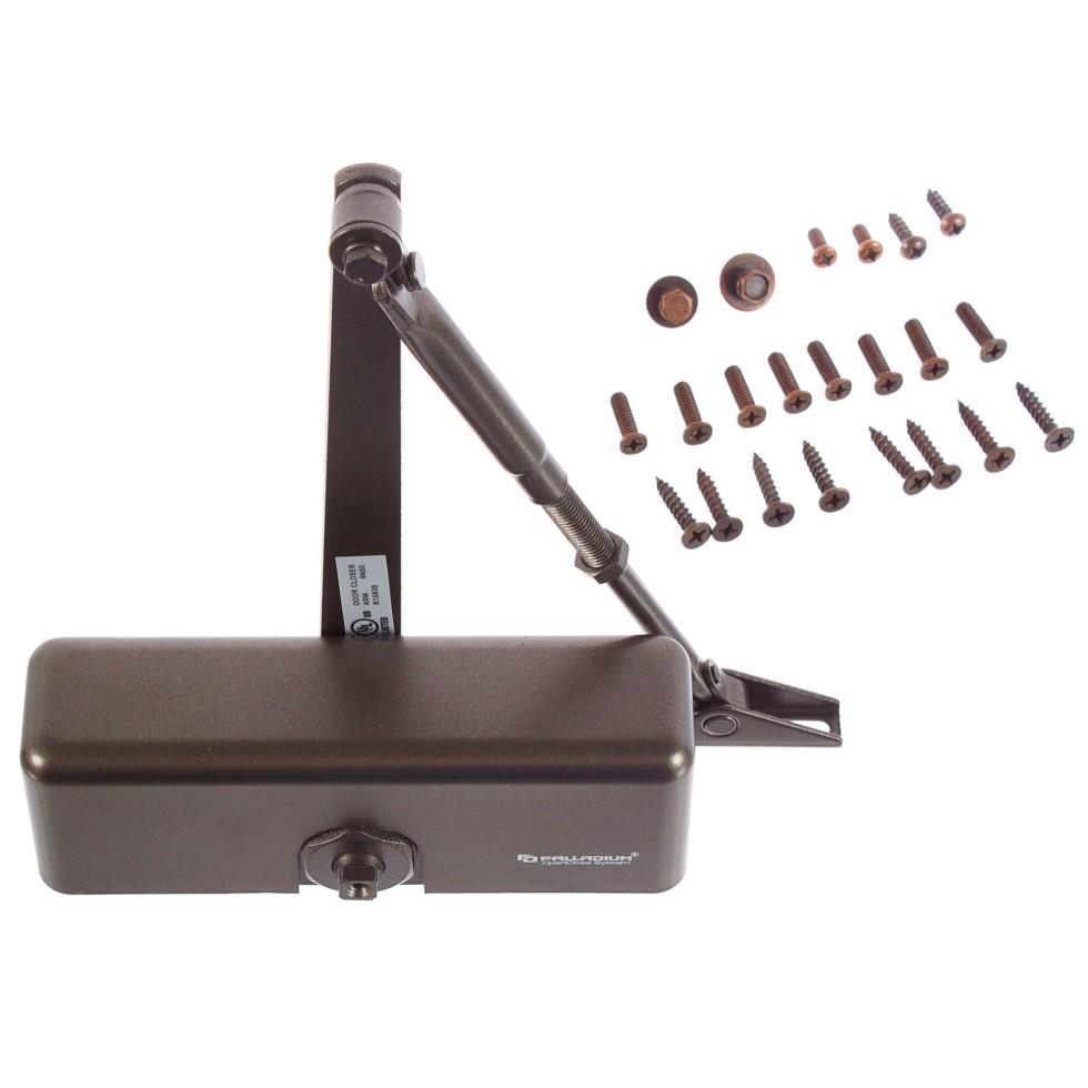 Доводчик 1060, 40-60 кг, цвет коричневый