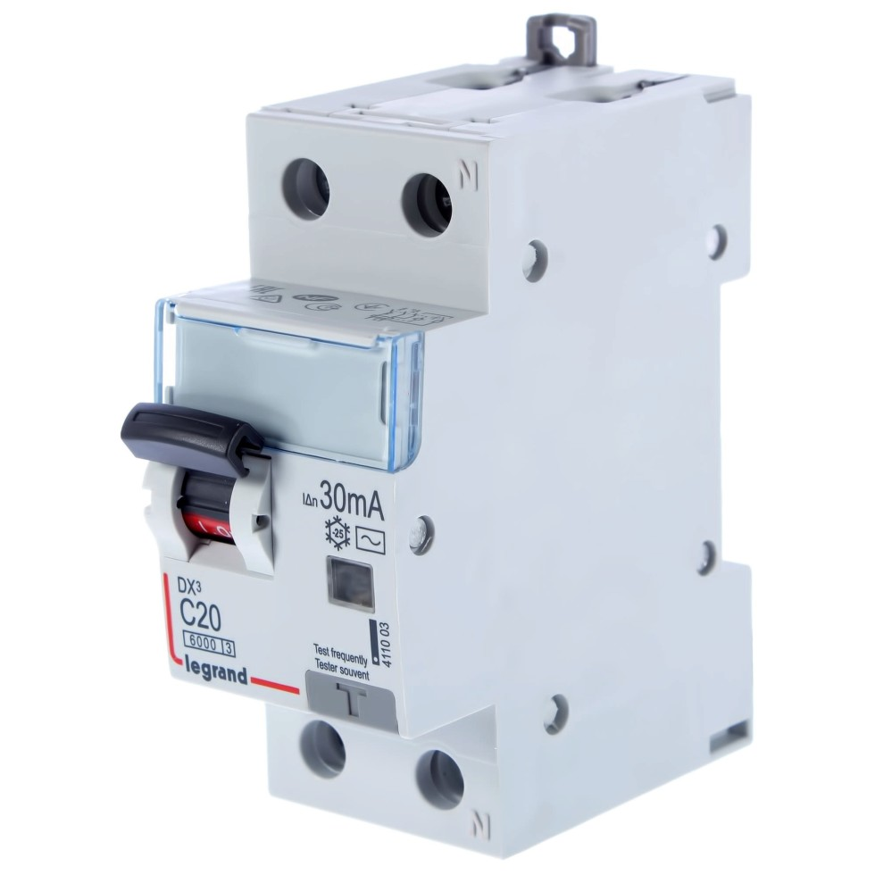 Автомат дифференциальный Legrand 1 полюс ноль 20 А