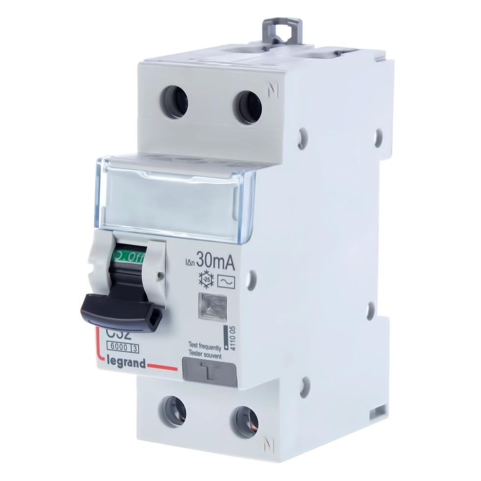 Автомат дифференциальный Legrand 1 полюс ноль 32 А