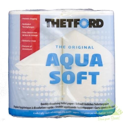 Туалетная бумага для биотуалета Thetford Aqua Soft, 4 рулона