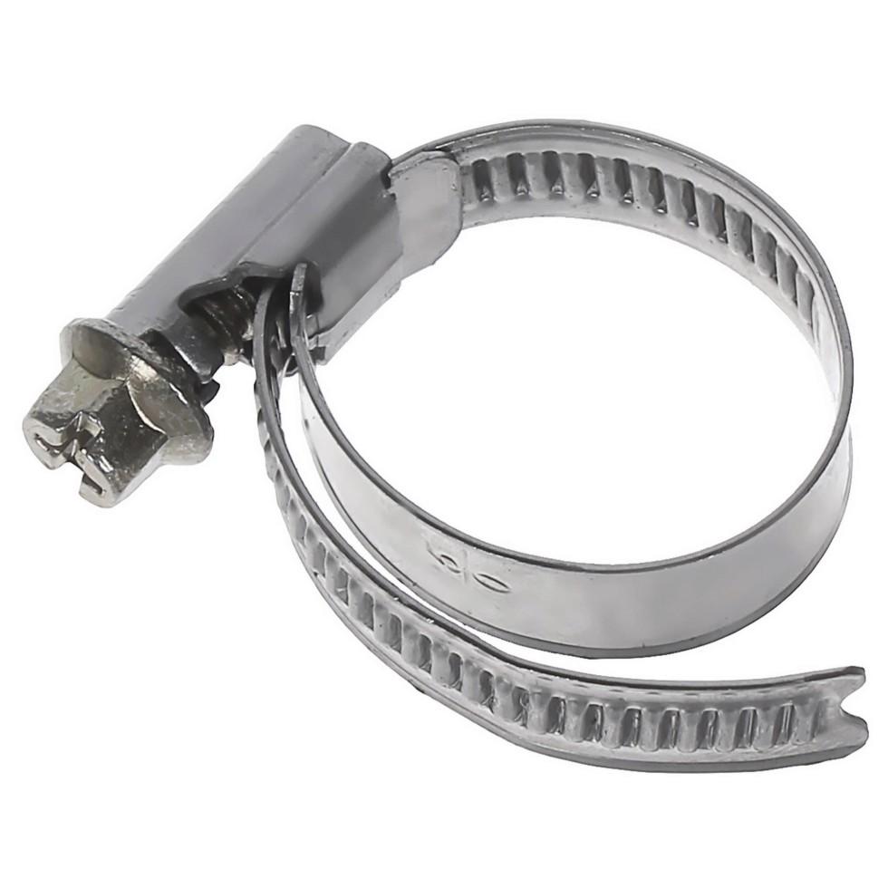 Хомут стальной Inox 08-25 мм, 2 шт.