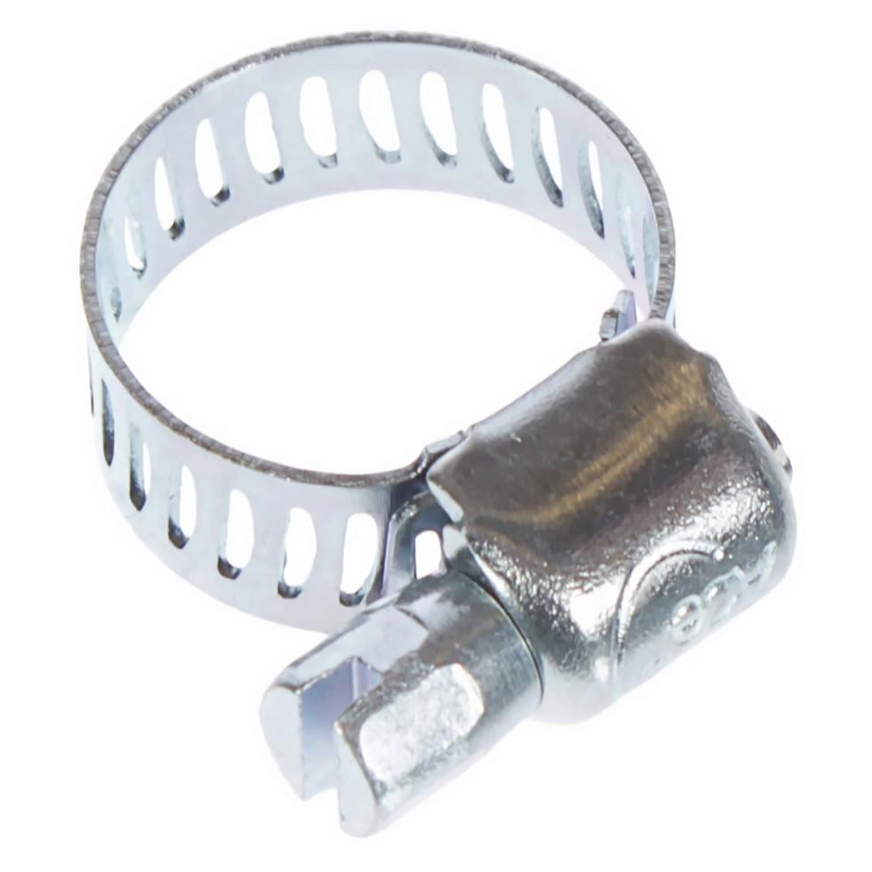 Хомут стальной 08-12 мм, 2 шт.