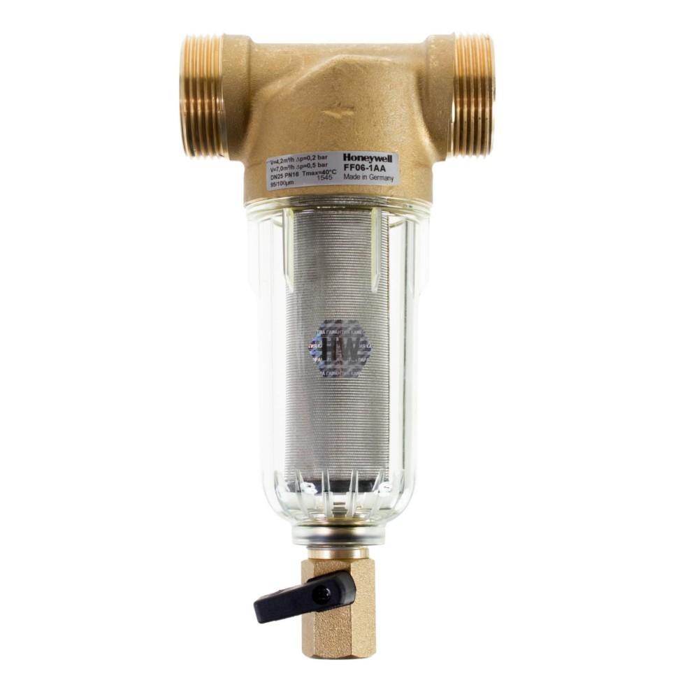 Фильтр механической очистки Honeywell для холодного водоснабжения, 100 мкм, 1