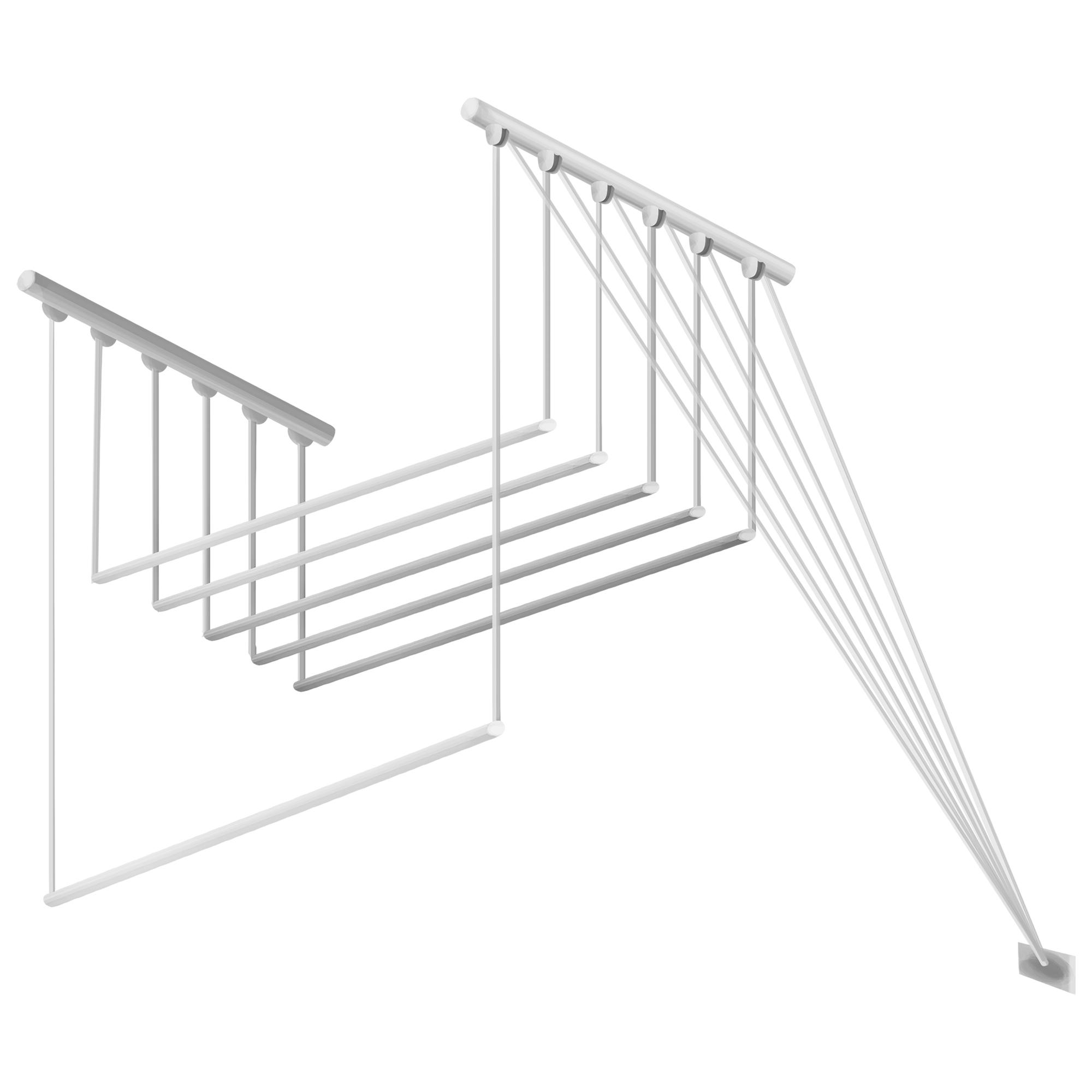 Сушилка для белья потолочная Gimi Lift 140, 8.4 м