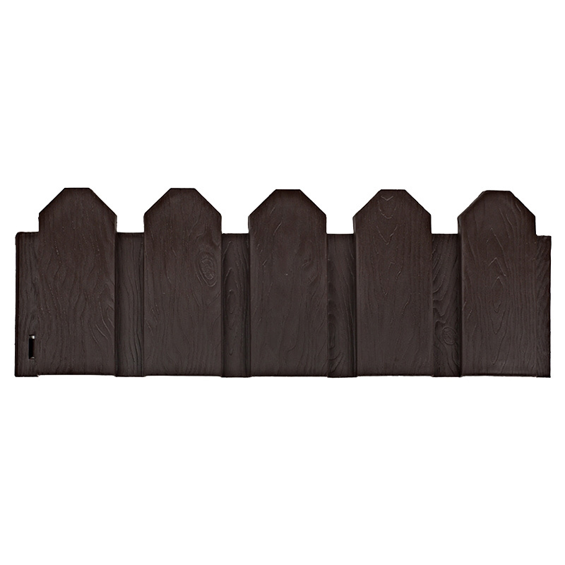Ограждение садовое декоративное «Дачник» 3 м цвет коричневый