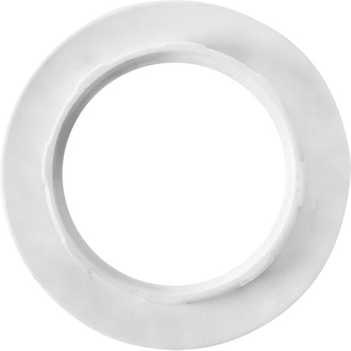 Кольцо крепежное для патрона Е14 цвет белый.