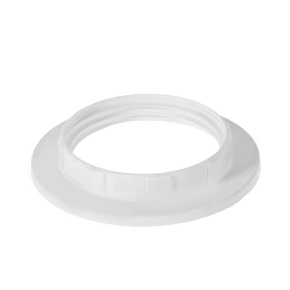 Кольцо крепежное для патрона Е27 цвет белый
