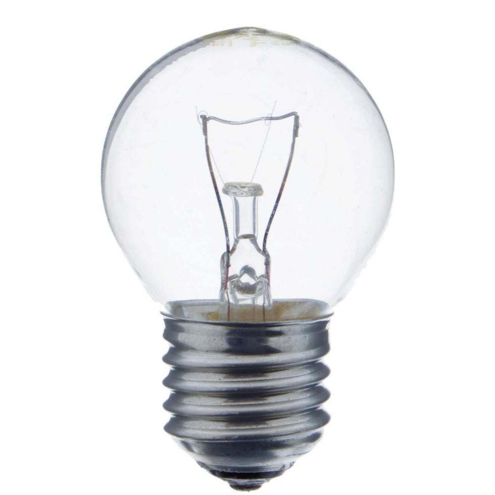 Лампа накаливания Osram шар E27 60 Вт свет тёплый белый