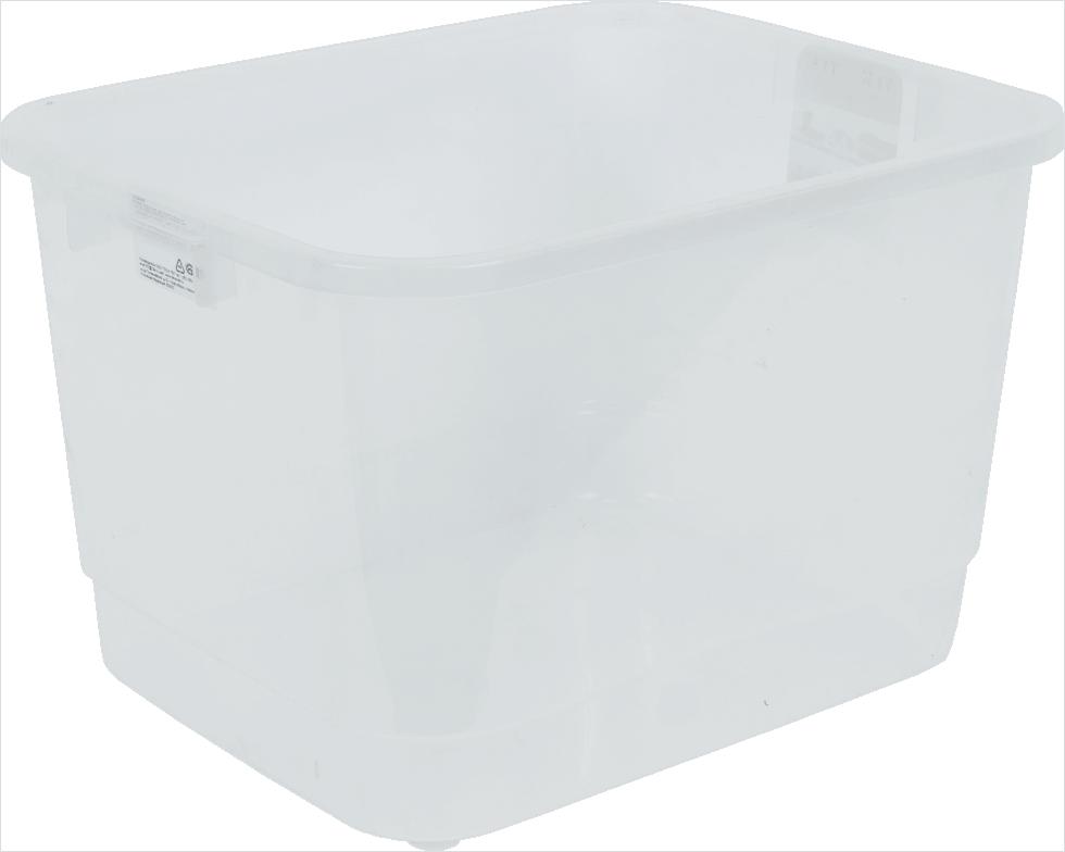 Ящик многофункциональный 42х26.5x32 см, пластик цвет прозрачный