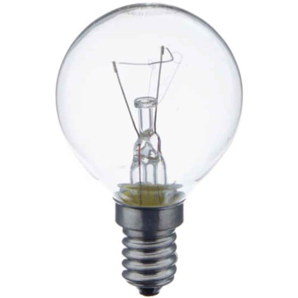 Лампа накаливания Osram шар E14 40 Вт свет тёплый белый