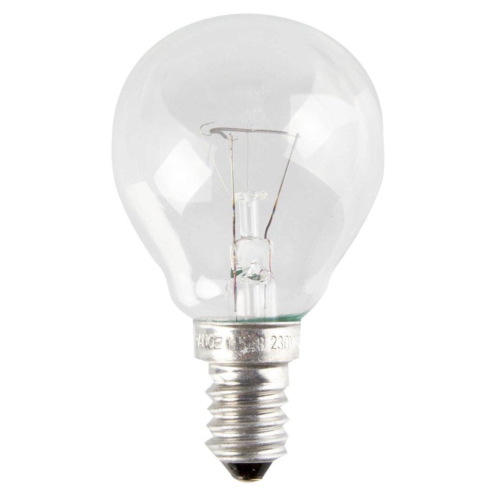 Лампа накаливания Osram шар E14 60 Вт свет тёплый белый