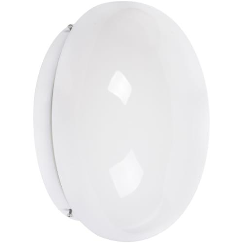 Светильник настенно-потолочный Полусфера 2xE27x60 Вт, IP20, металл/пластик, цвет белый