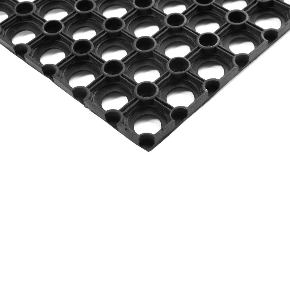 Коврик придверный, 40x60 см, 16 мм, резина
