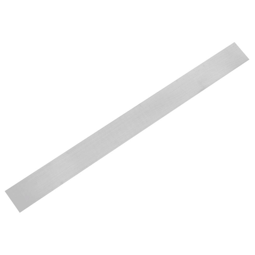Пластина крепежная 1000x35х2 мм, алюминий
