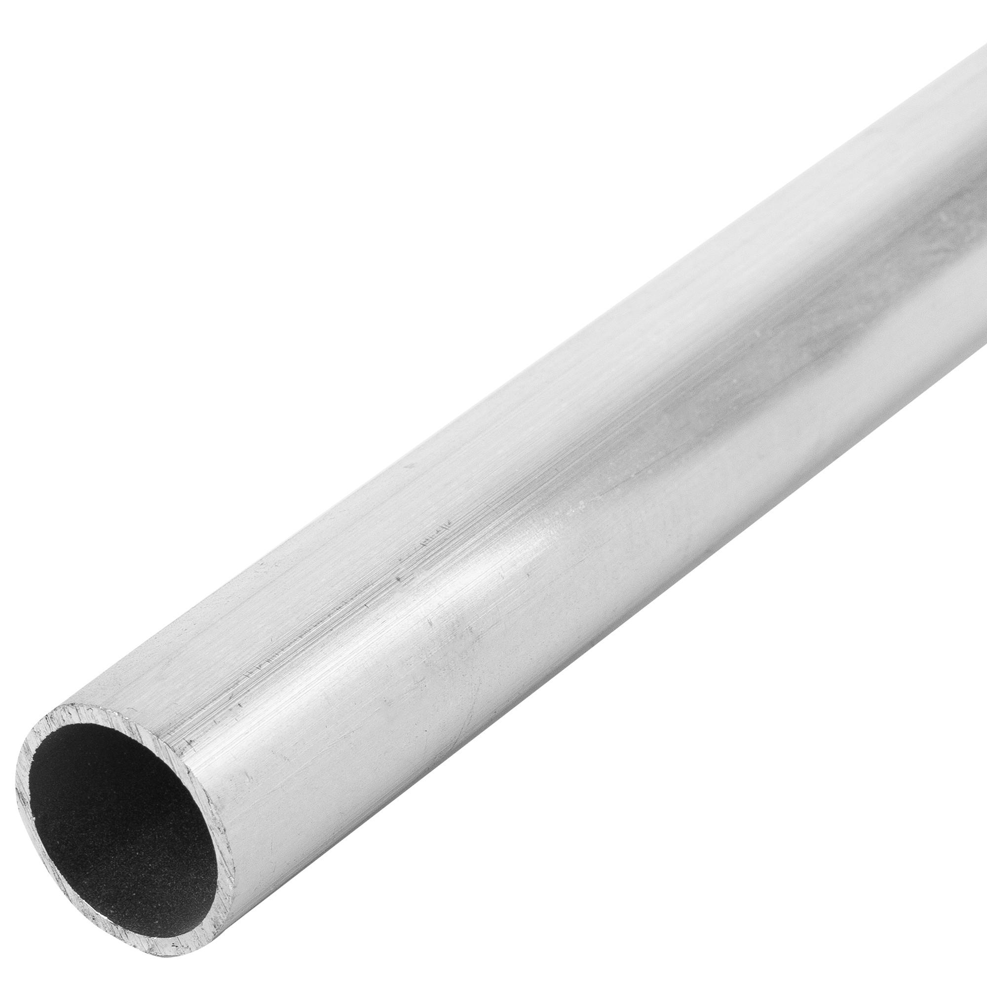 Труба 25x25x2000х25 мм, алюминий, цвет серебристо-белый