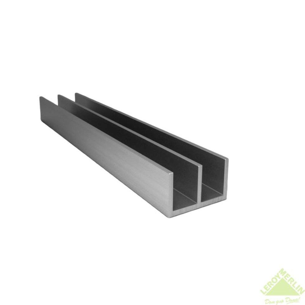 Профиль алюминиевый Ш-образный 266, 2 м