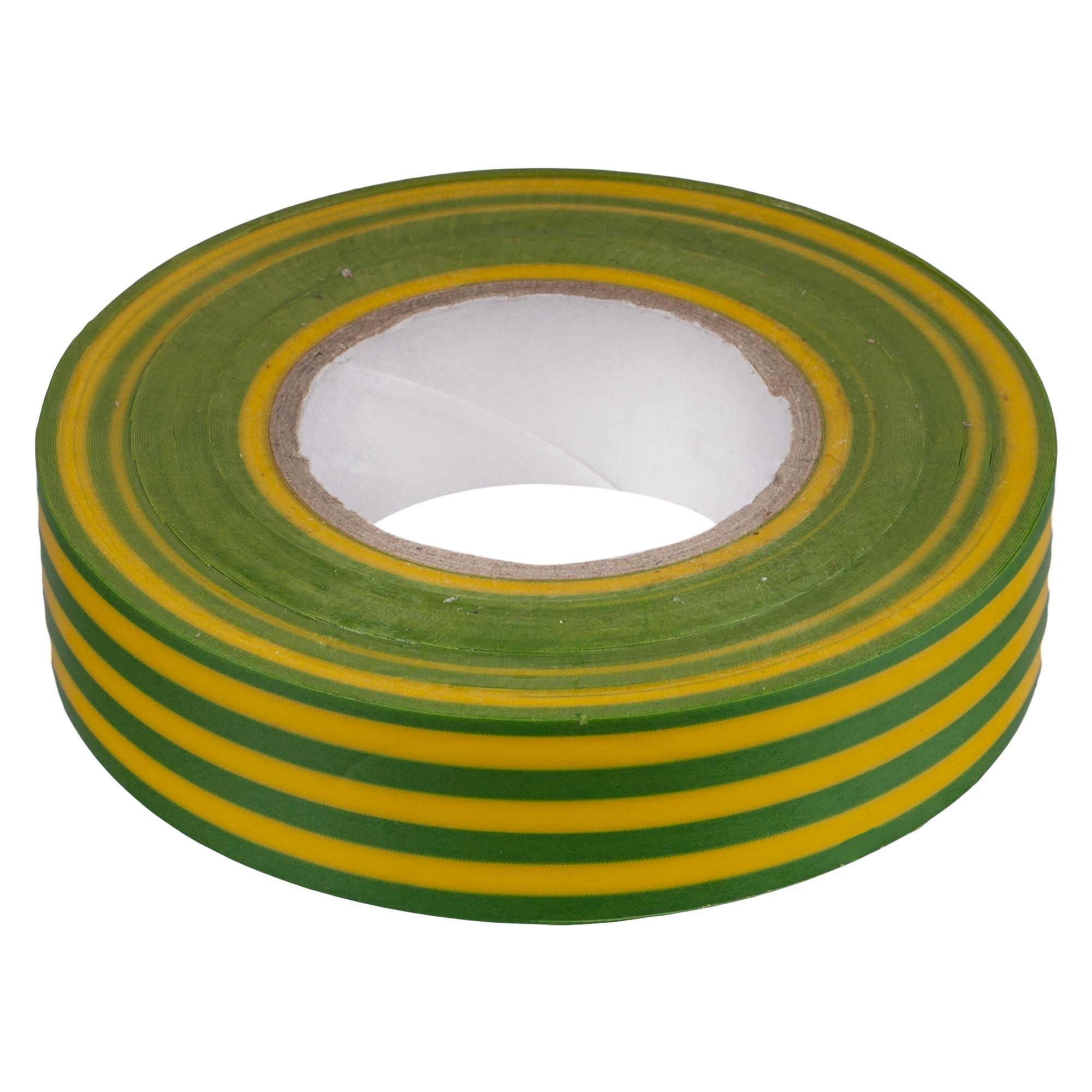 Изолента IEK 19 мм 20 м цвет жёлто-зеленый
