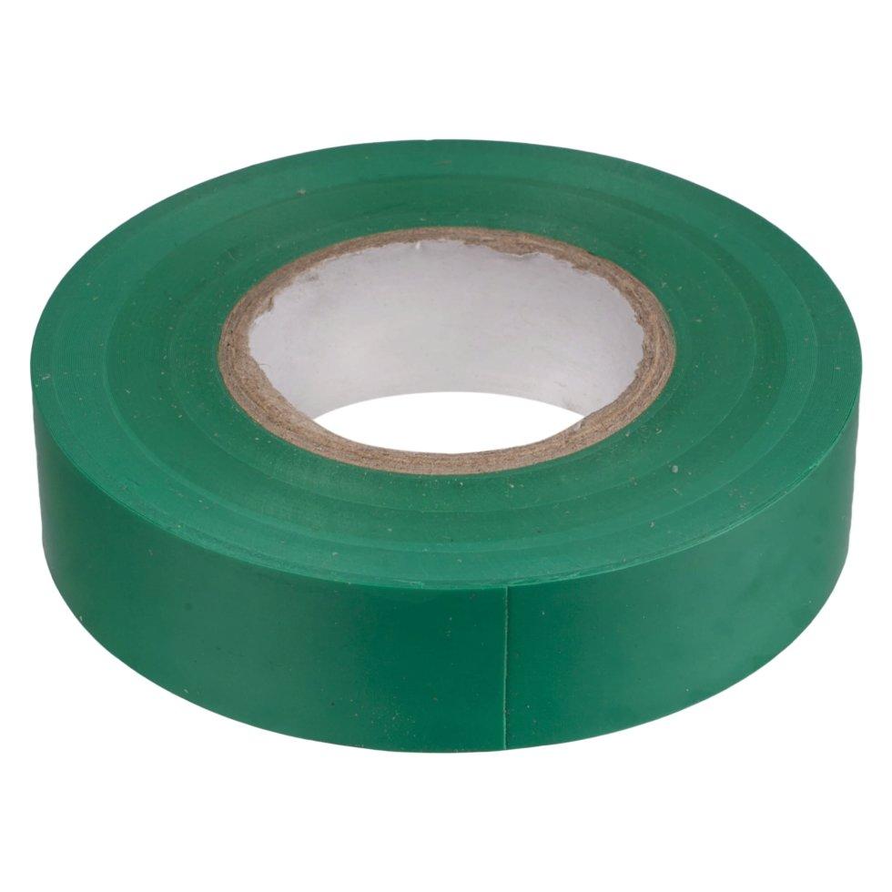 Изолента IEK 19 мм 20 м цвет зелёный