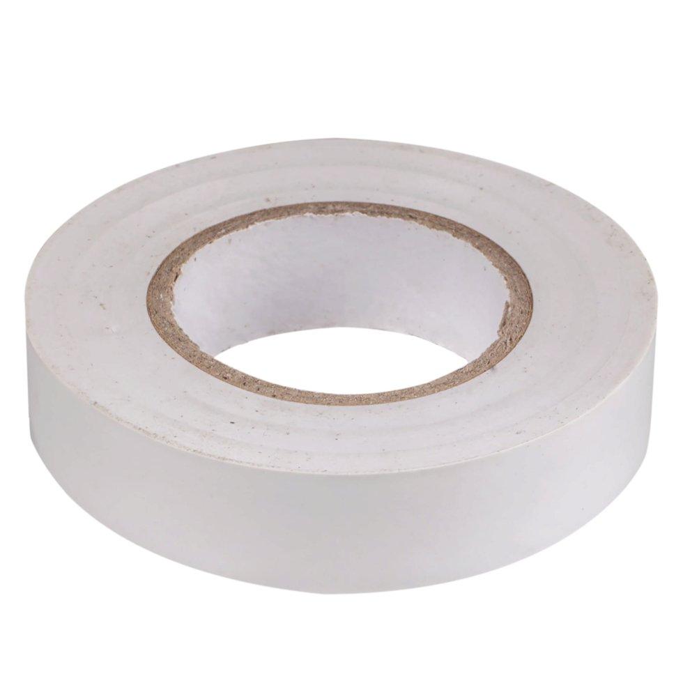 Изолента IEK Home 15 мм 20 м цвет белый