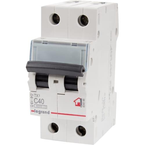 Выключатель автоматический Legrand 2 полюса 40 А