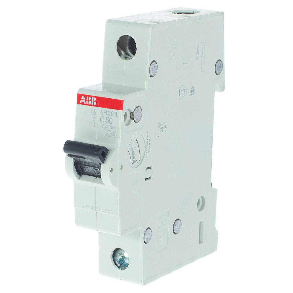 Выключатель автоматический ABB 1 полюс 50 A