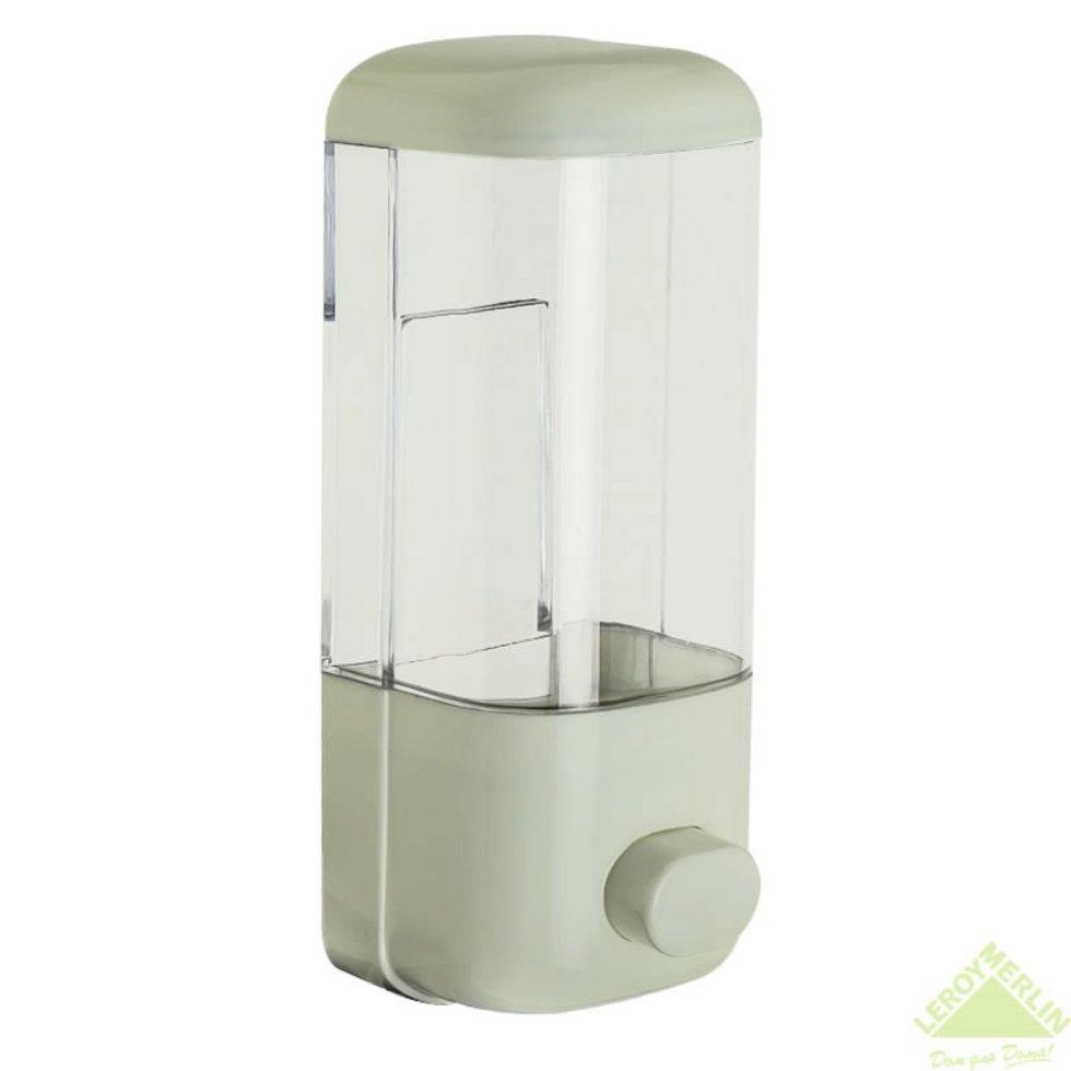 Диспенсер подвесной для жидкого мыла Mr Penguin, 400 мл, пластик, цвет белый