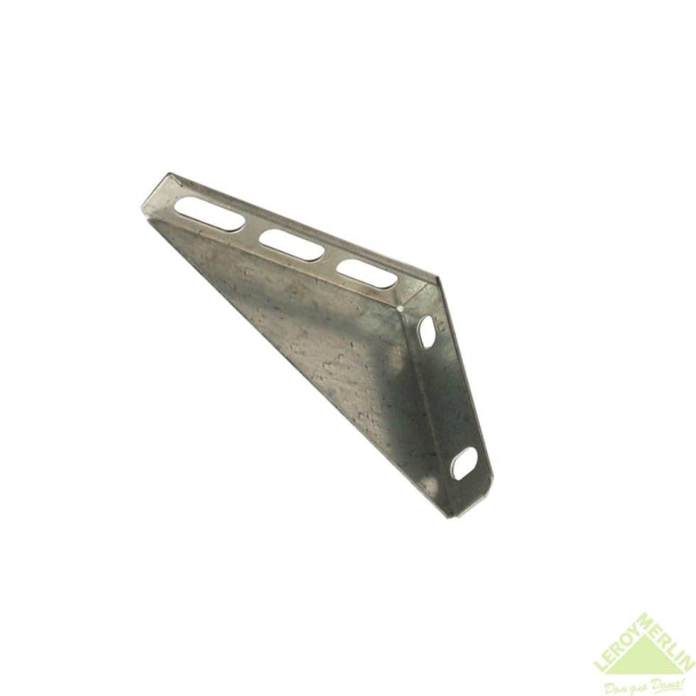 Кронштейн опорный 150 мм, сталь оцинкованная