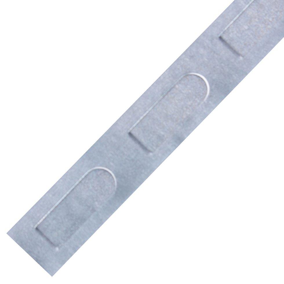 Лента монтажная МП15 перфорированная, 15 мм, 20 м, сталь