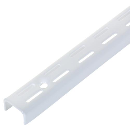 Комплект направляющих двухрядных 200 см нагрузка до 55 кг цвет белый, 4 шт.