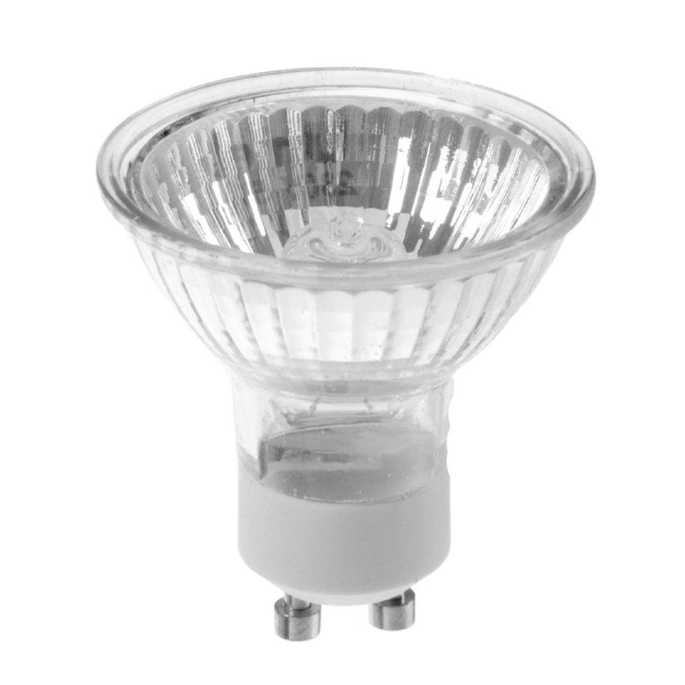 Лампа галогенная Uniel GU10 50 Вт свет тёплый белый