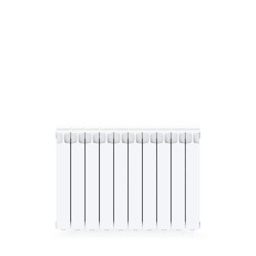 Радиатор Rifar Monolit 500, 10 секций, боковое подключение, биметалл