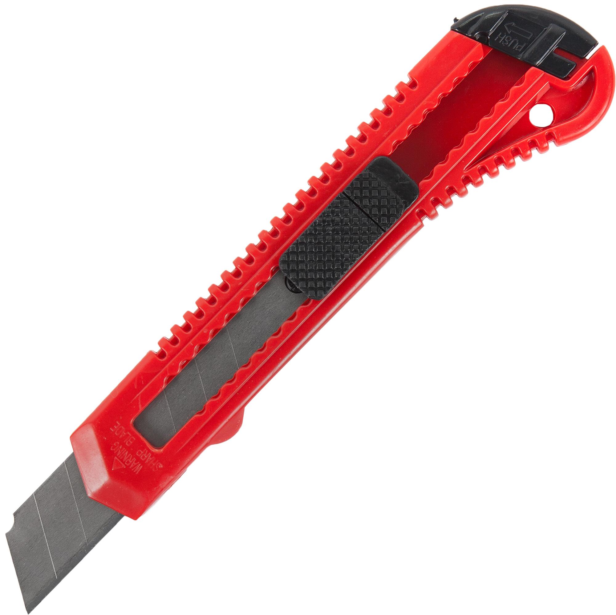 Нож 18 мм пластиковая ручка