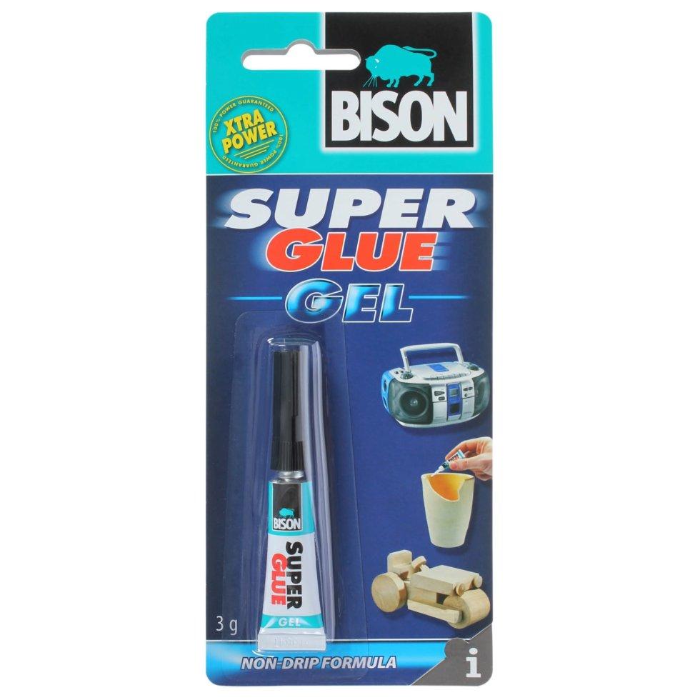 Супер-клей универсальный супер Bison Super Glue Gel, 3 г