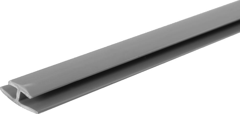 Профиль стыковочный 2000 мм 99ШК цвет серый