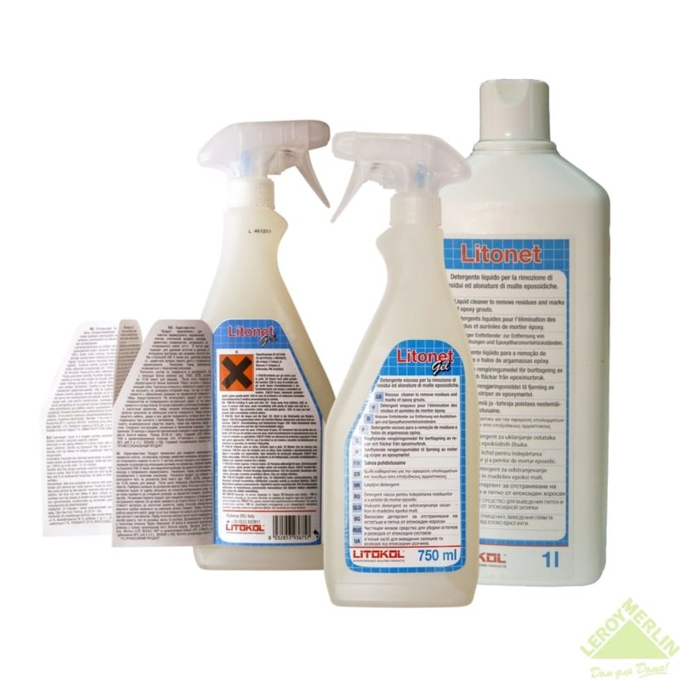 Средство для очистки Litonet gel, 0.75 кг