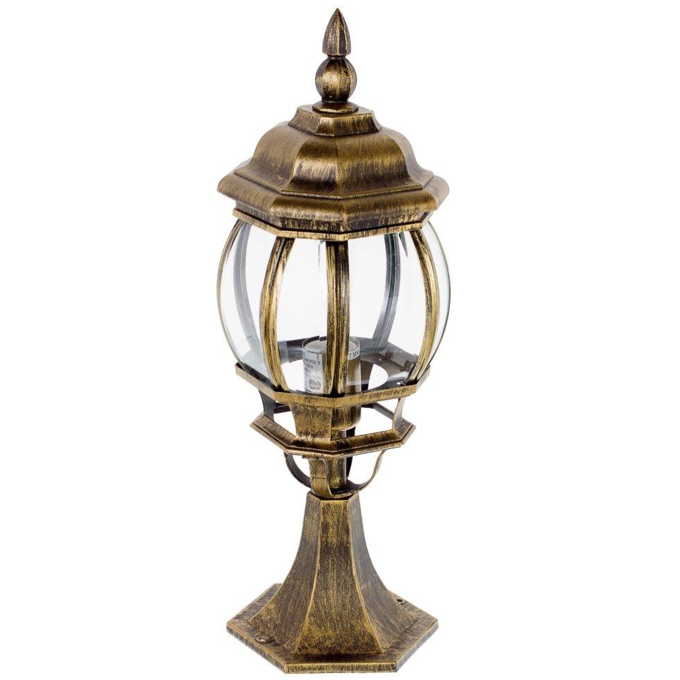 Столб уличный Inspire Dubai малый 1xE27х100 Вт, 49,5 см, цвет бронзовый, IP23