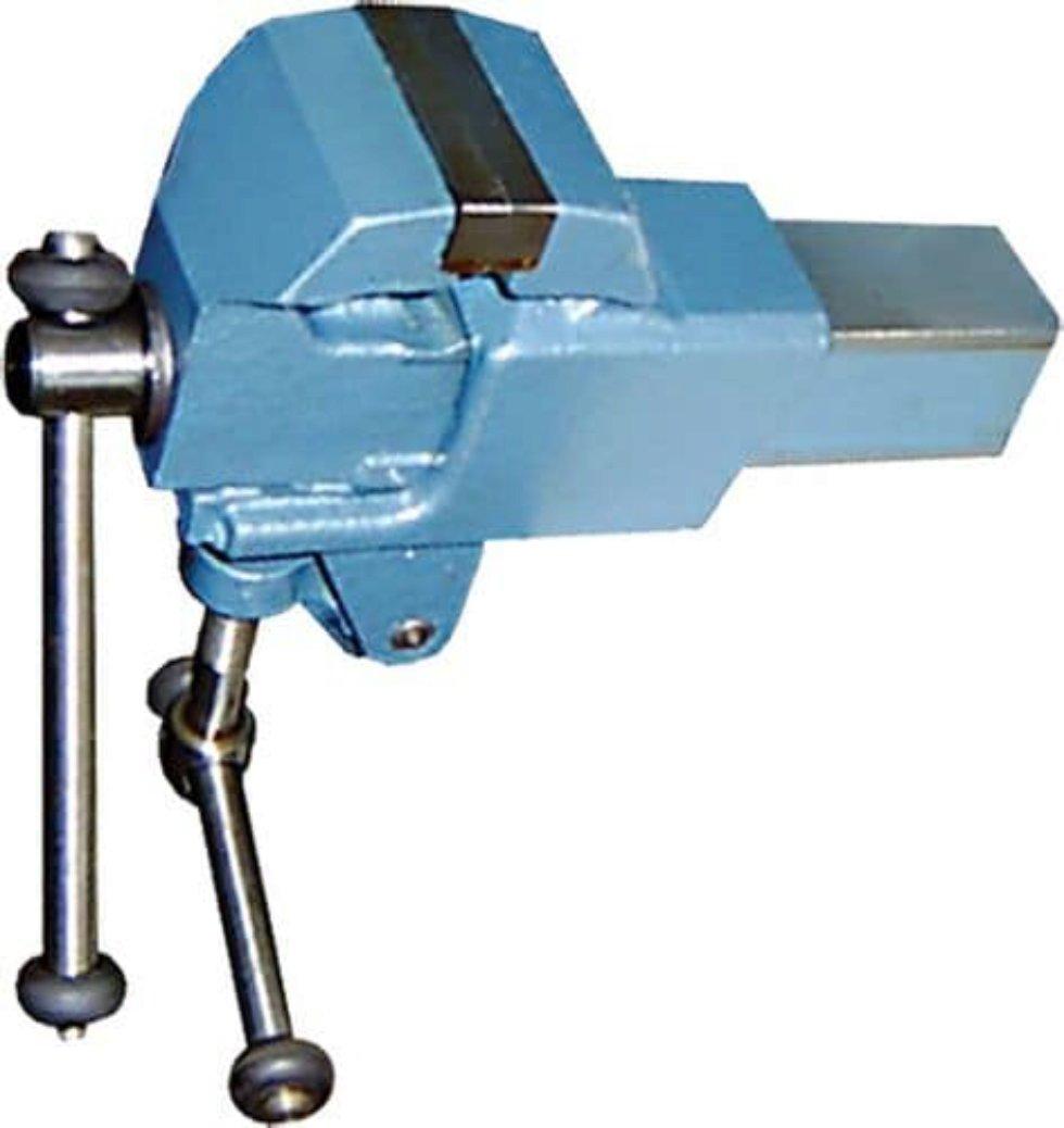 Тиски слесарные неповоротные Глазов, 63 мм
