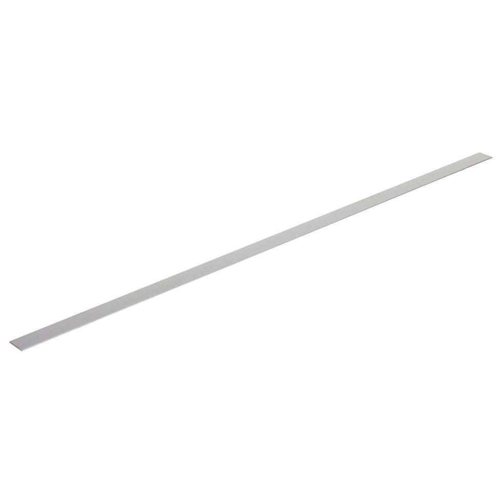 Полоса алюминиевая 30х2 мм, 1 м, цвет серебро