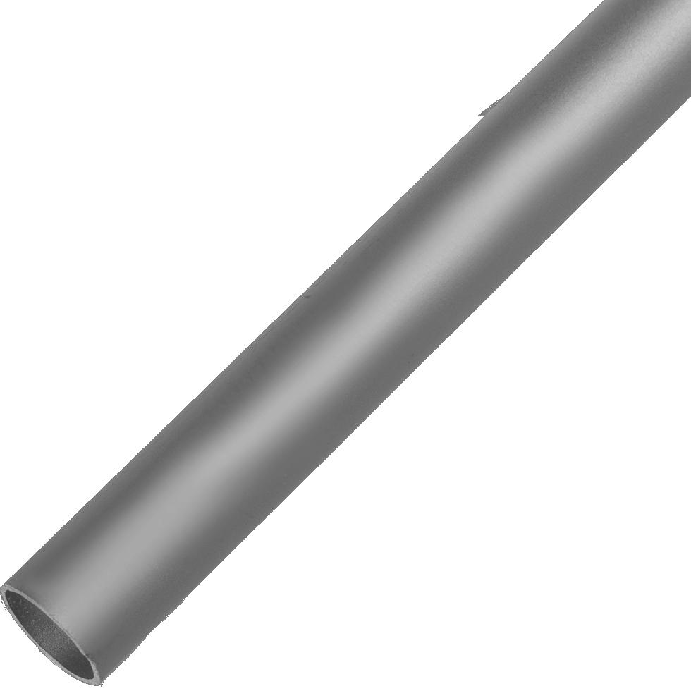 Труба 12х12х2000х12 мм, алюминий, цвет серебро