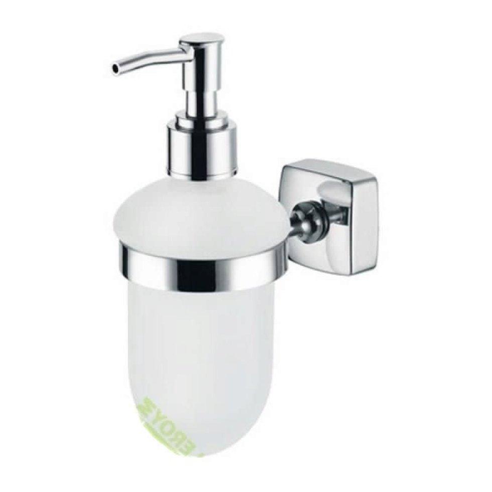 Дозатор подвесной для жидкого мыла «Kvadro», цвет хром