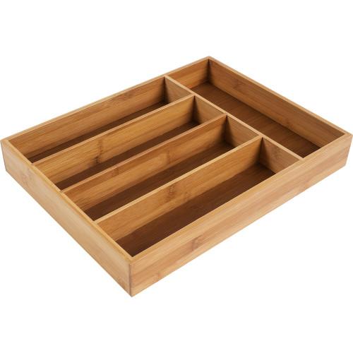 Лоток для ящика 5 отделений, цвет дерево