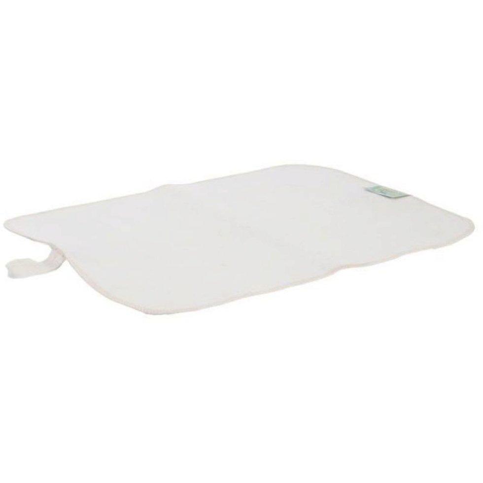 Ковёр для бани «Универсальный» 45ч45 см войлок цвет белый