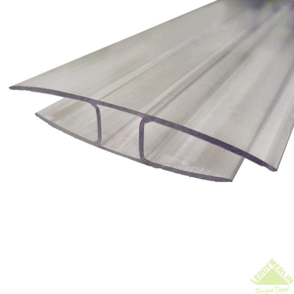 Профиль соединительный 4-6 мм x 3 м, цвет прозрачный