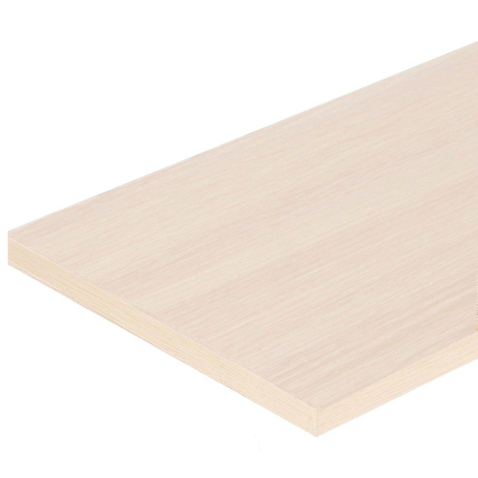 Деталь мебельная 1200х200х16 мм ЛДСП цвет дуб беленый