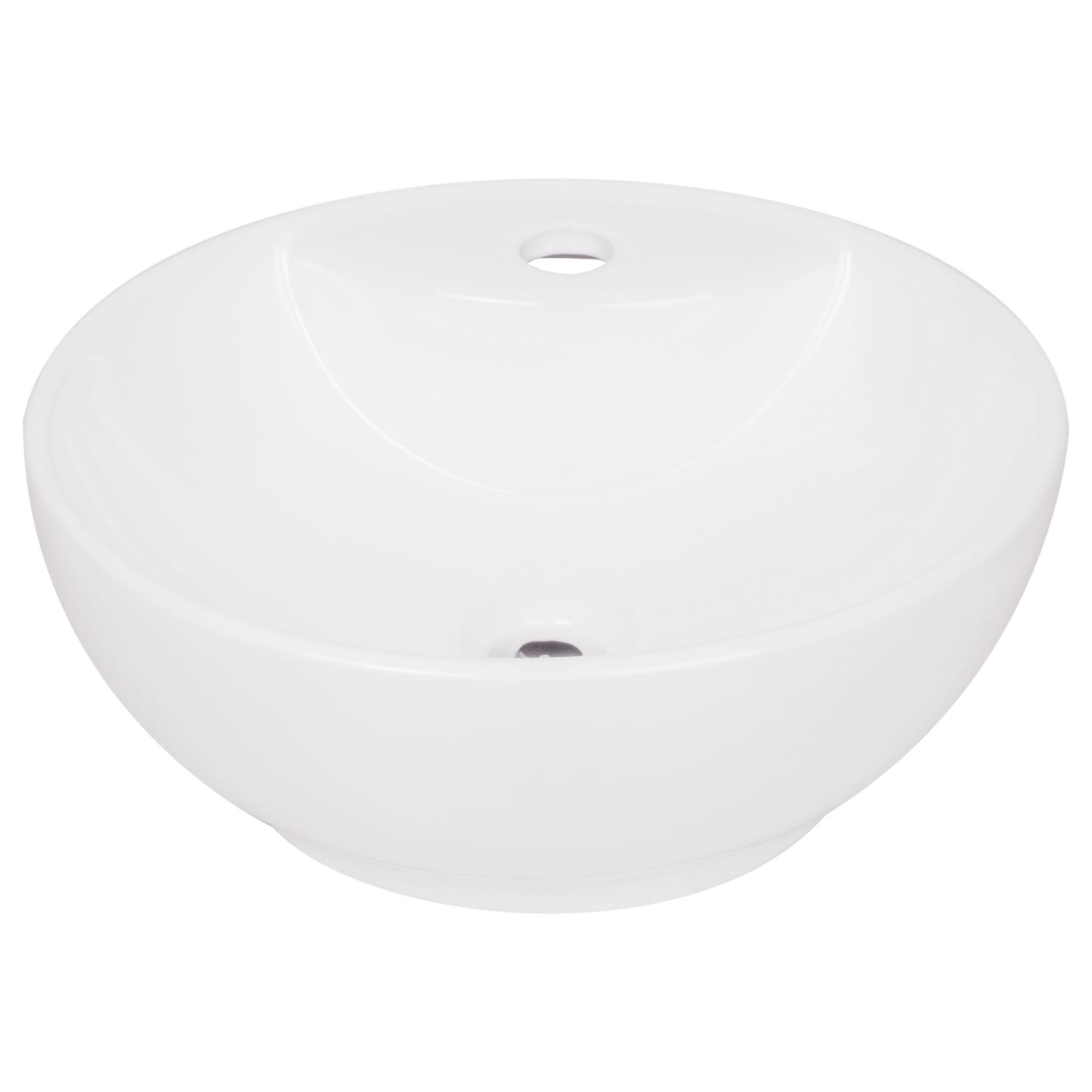 Раковина круглая Нептун, керамика, 40 см, цвет белый