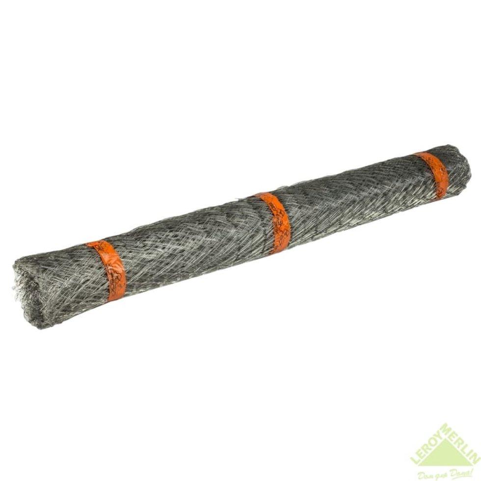 Сетка металлическая Штрек 30х0.7х0.3 мм, 1x20 м