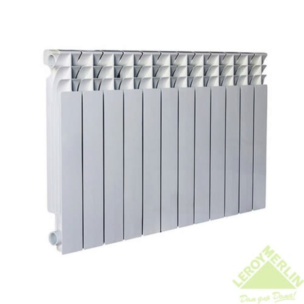 Радиатор Monlan 500/80, 12 секций, алюминий